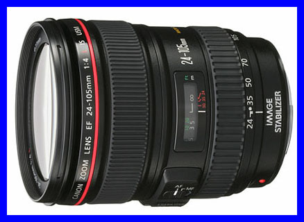 Canon Zoom Lens ef 24-105mm The Canon ef 24-105mm F/4l is
